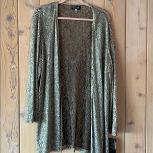 Onyx Nite Glamour Cardigan Size 16